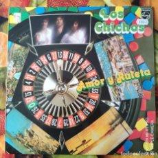 Discos de vinilo: LIQUIDACION DE DISCOS DE VINILO EN BUEN ESTADO --- LOS CHICHOS_AMOR Y RULETA (1979-1980). Lote 236790840