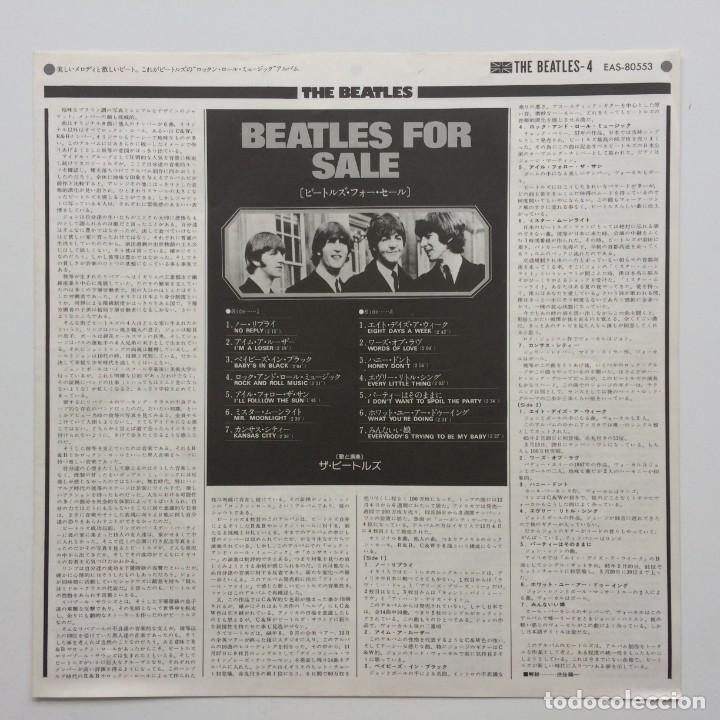Discos de vinilo: The Beatles – Beatles For Sale Japan,1976 Apple Records - Foto 5 - 236793550