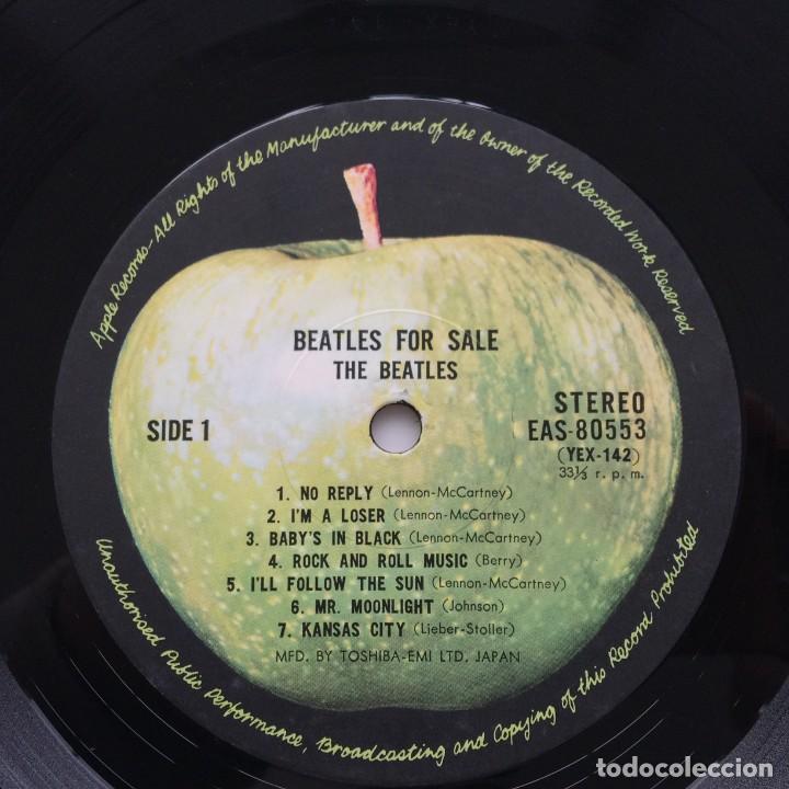 Discos de vinilo: The Beatles – Beatles For Sale Japan,1976 Apple Records - Foto 6 - 236793550