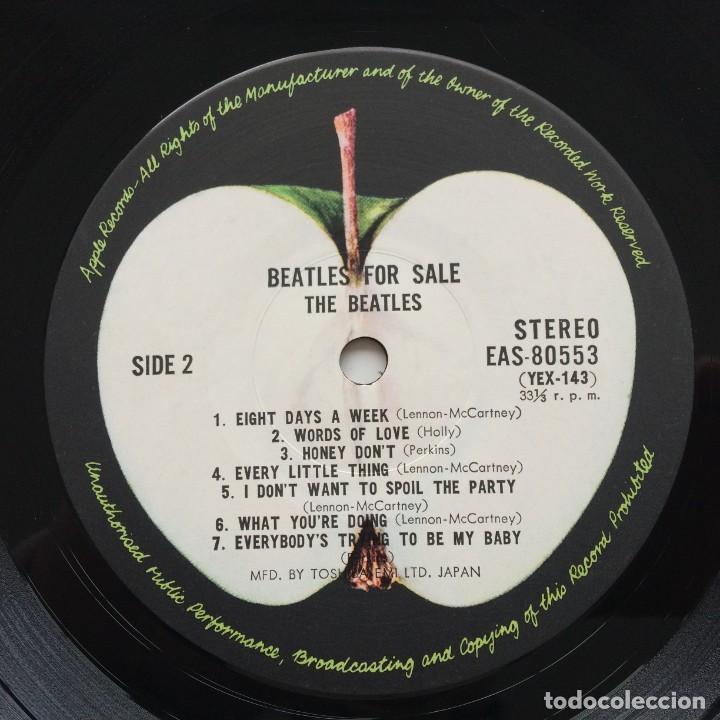 Discos de vinilo: The Beatles – Beatles For Sale Japan,1976 Apple Records - Foto 7 - 236793550