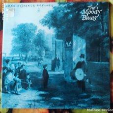 Discos de vinilo: LIQUIDACION DE DISCOS DE VINILO EN BUEN ESTADO --- THE MOODY BLUES_DISTANCE VOYAGER (1979-1980). Lote 236793905