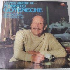 Disques de vinyle: GOYENECHE - LO MÁS GRANDE. EDICIÓN ARGENTINA. TANGO. MUY RARO!. Lote 236794070