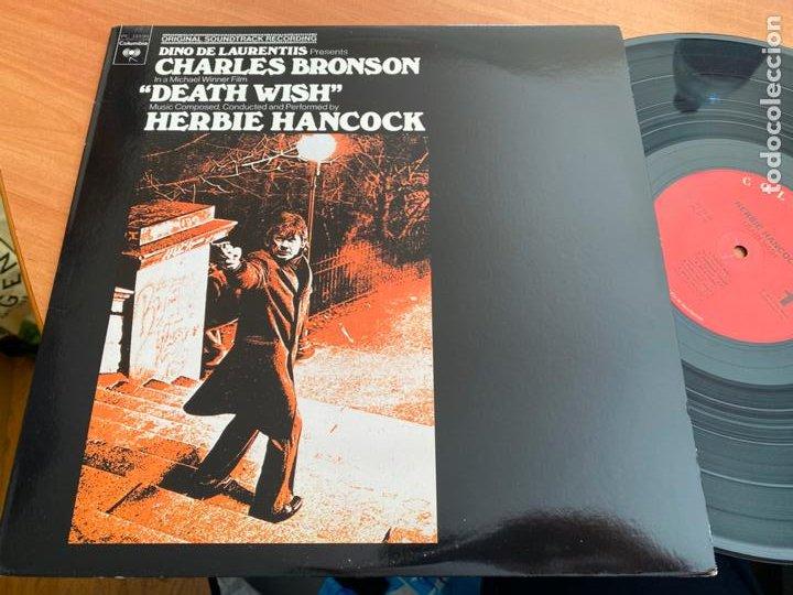 HERBIE HANCOCK (DEATH WISH) B.S.O. LP (B-19) (Música - Discos - LP Vinilo - Bandas Sonoras y Música de Actores )