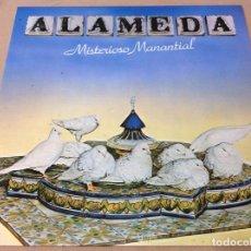 Discos de vinilo: ALAMEDA, MISTERIOSO MANANTIAL, EPIC 1980. CONTIENE ENCARTE.. Lote 236802210