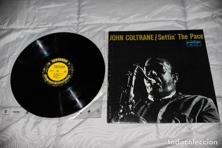 JOHN COLTRANE - SETTIN´ THE PACE - 1983 - USA - VG++/VG+ (Música - Discos - LP Vinilo - Jazz, Jazz-Rock, Blues y R&B)