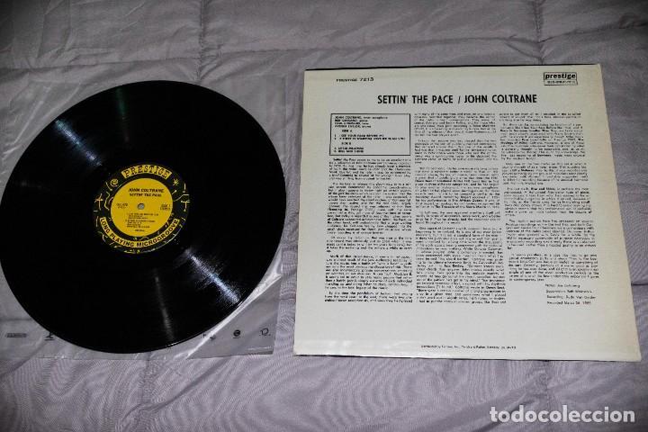 Discos de vinilo: JOHN COLTRANE - SETTIN´ THE PACE - 1983 - USA - VG++/VG+ - Foto 2 - 236805845