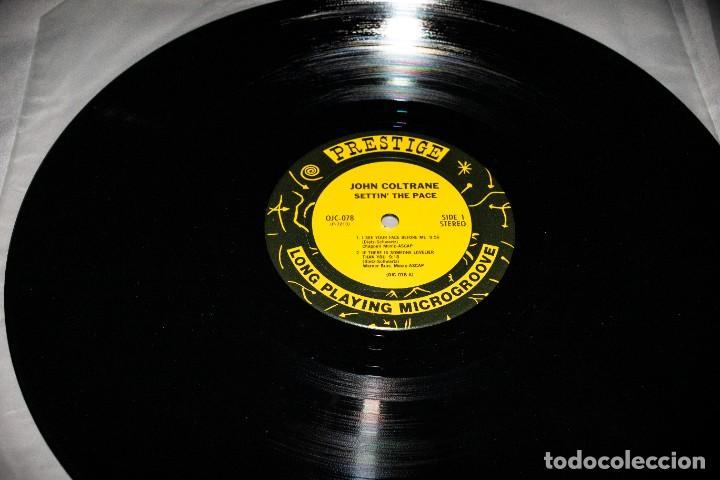 Discos de vinilo: JOHN COLTRANE - SETTIN´ THE PACE - 1983 - USA - VG++/VG+ - Foto 4 - 236805845