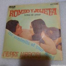 Discos de vinilo: HENRY MANCINI - ROMEO Y JULIETA. BSO. Lote 236809580