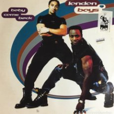 Discos de vinilo: LONDON BOYS - BABY COME BACK. Lote 236810430
