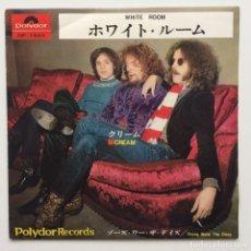 Discos de vinilo: CREAM – WHITE ROOM / THOSE WERE THE DAYS JAPAN,1968. Lote 236811075