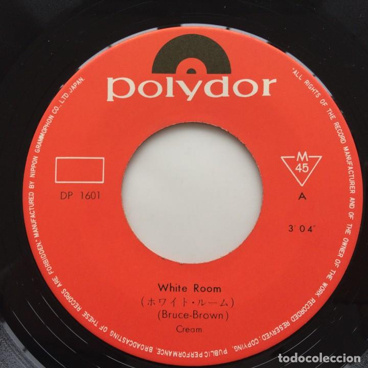 Discos de vinilo: Cream ‎– White Room / Those Were The Days Japan,1968 - Foto 3 - 236811075