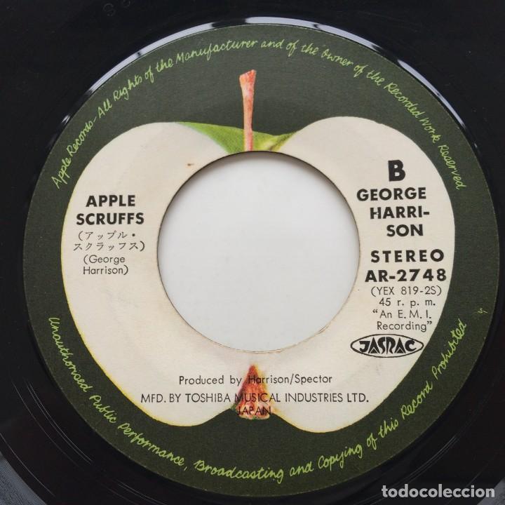 Discos de vinilo: George Harrison – What Is Life / Apple Scruffs Japan,1971 - Foto 5 - 236815290