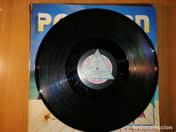 Discos de vinilo: Lote 2 discos EuroHouse. POPCORN TECHNO TALK y MOVE YOUR LOVE - Foto 4 - 236816235