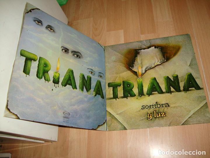 Discos de vinilo: TRIANA, sombra y luz 79 - ORG EDT 1º PRESS spain MOVIEPLAY, doble carpeta, todo impecable - Foto 12 - 236819590