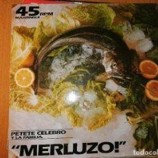 Discos de vinilo: LOTE 2 DISCO DISCO/DANCE PETETE CELEBRO Y LA FAMILIA,MERLUZO Y KON KAN / HARRY HOUDINI. Lote 236819835