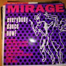 Discos de vinilo: LOTE 2 DISCO DISCO/DANCE MIRAGE EVERY BODY DANCE NOW Y KC FLIGHTT - JUMP FOR JOY. Lote 236820880
