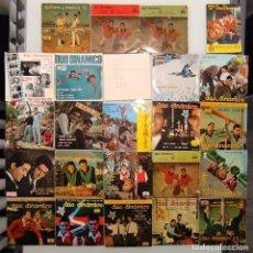Discos de vinilo: LOTE DUO DINAMICO 23 EPS + LIBRO REGALO. DISCOS AÑOS 60/70. Lote 236820915