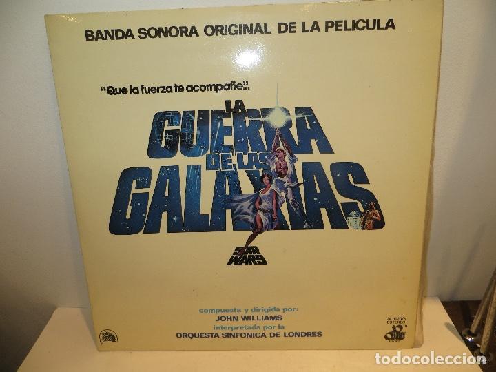 DISCO STAR WARS EN MUY BUEN ESTADO,REGALADO (Música - Discos - LP Vinilo - Bandas Sonoras y Música de Actores )