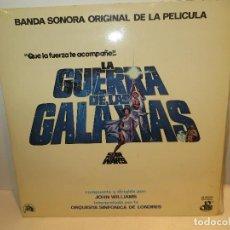 Discos de vinilo: DISCO STAR WARS EN MUY BUEN ESTADO,REGALADO. Lote 236823910