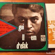 Discos de vinilo: GUILLEM D'EFAK - INVENTORI DE TARDOR + 3 *************RARO EP 1967 GRAN ESTADO!. Lote 236825820