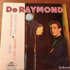 Discos de vinilo: DE RAYMOND - GLORIA + 3 *************RARO EP 1963 IMPECABLE!. Lote 236826980