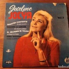 Discos de vinilo: JOCELYNE JOCYA - J'AI DANSÉ LA SARDANA + 3 *************RARO EP ESPAÑOL 1960 GRAN ESTADO. Lote 236827375
