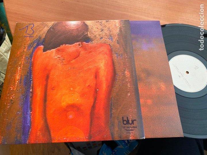 BLUR (13) 2 X LP FOODLP29 (B-19) (Música - Discos - LP Vinilo - Pop - Rock Internacional de los 90 a la actualidad)