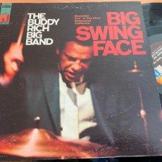 Discos de vinilo: BUDDY RICH BIG BAND (BIG SWING FACE) LP GAT. USA ST-20117 (B-19). Lote 236831590