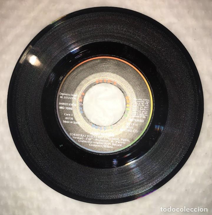 Discos de vinilo: SINGLE HOMO SAPIENS - TORNERAI, TORNERO - UN CAMINO HACIA EL MAR - COLUMBIA RIFI - PEDIDOS MINIMO 7€ - Foto 3 - 236834625