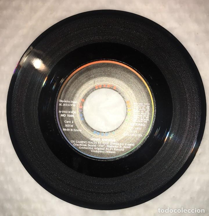 Discos de vinilo: SINGLE HOMO SAPIENS - TORNERAI, TORNERO - UN CAMINO HACIA EL MAR - COLUMBIA RIFI - PEDIDOS MINIMO 7€ - Foto 4 - 236834625
