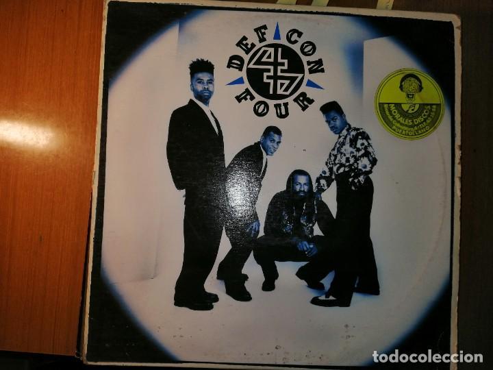 LOTE 2 DISCO RAP/HIP HOP. YOUNG MC I COME OFF Y DEF CON 4 – DEF CON 4 (Música - Discos - LP Vinilo - Rap / Hip Hop)