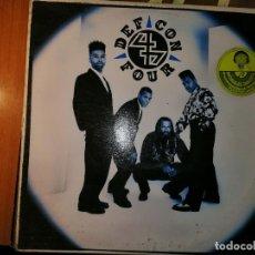 Discos de vinilo: LOTE 2 DISCO RAP/HIP HOP. YOUNG MC I COME OFF Y DEF CON 4 – DEF CON 4. Lote 236836505