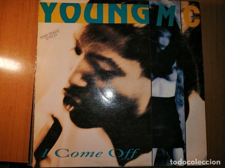 Discos de vinilo: Lote 2 disco Rap/Hip Hop. YOUNG MC I COME OFF y DEF CON 4 – DEF CON 4 - Foto 3 - 236836505