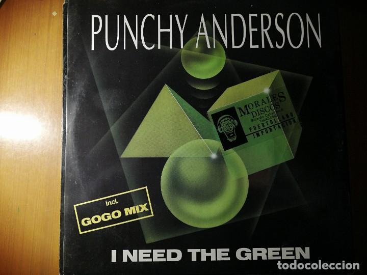 """LOTE 2 DISCO RAP/HIP HOP. PUNCHY ANDERSON """"I NEED THE GREEN"""" Y BREAKOUT, CASA NERO""""THE DAWN"""" (Música - Discos - LP Vinilo - Rap / Hip Hop)"""