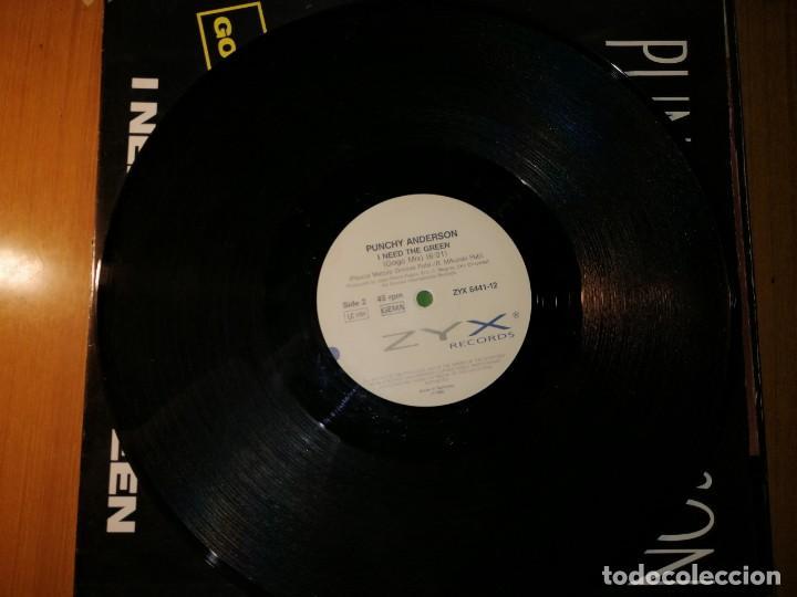 """Discos de vinilo: Lote 2 disco Rap/Hip Hop. PUNCHY ANDERSON """"I NEED THE GREEN"""" y BREAKOUT, CASA NERO""""THE DAWN"""" - Foto 2 - 236836865"""