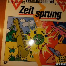 Discos de vinilo: LOTE 2 DISCO TECHNO. NO VOCALS NECESSARY MOVEMENT,THE PLANK Y TIME TO TIME ZEITSPRUNG. Lote 236837165