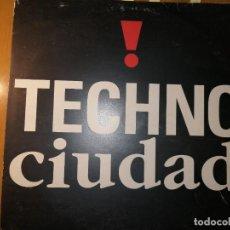 Discos de vinilo: LOTE 2 DISCO TECHNO. TECHNO CIUDAD Y ADRIGHEM BELLS. Lote 236837330