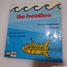 Discos de vinilo: THE BEATLES- YELLOW SUBMARINE. + 3. Lote 236837335