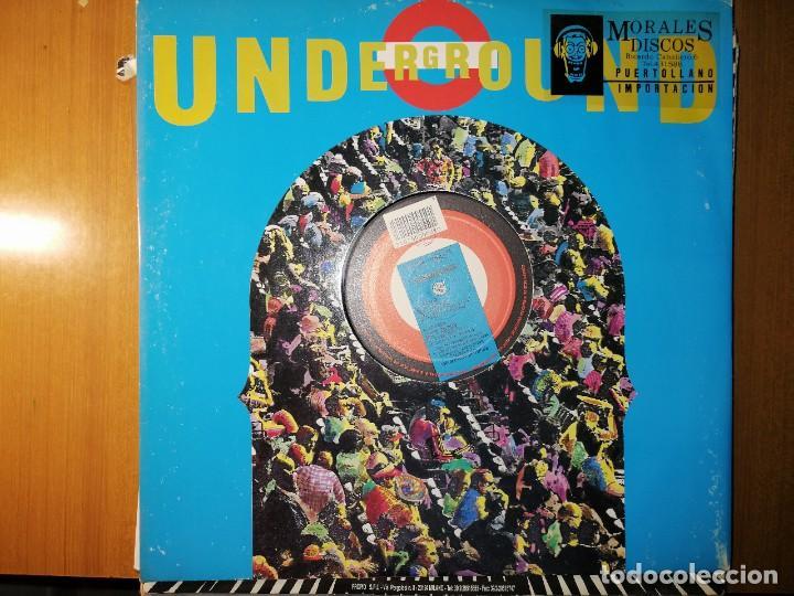 Discos de vinilo: Lote 2 disco Italo dance. VINEGAR–GET BUSY y D.F.B.* FEATURING WALTER BARBARIA –NESSUN DORMA - Foto 3 - 236838030