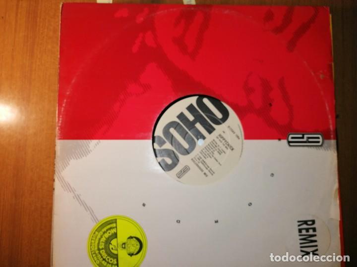 LOTE 2 DISCO DOWNTEMPO. DOUBLE TROUBLE'S COLLECTIVE EFFORT ··· CELEBRATE Y HIPPYCHICK (Música - Discos de Vinilo - Maxi Singles - Pop - Rock Internacional de los 90 a la actualidad)