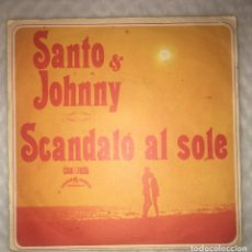 Discos de vinilo: SINGLE SANTO & JOHNNY - SCANDALO AL SOLE - ONLY YOU - CANADIAN AMERICAN CAN70.36 - PEDIDOS MINIMO 7€. Lote 236839555
