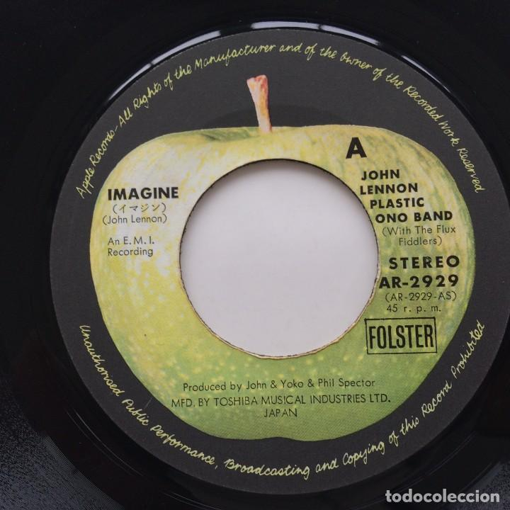 Discos de vinilo: John Lennon, Plastic Ono Band With The Flux Fiddlers ‎– Imagine / Its So Hard Japan,1971 - Foto 3 - 236840100