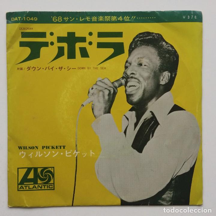 WILSON PICKETT ‎– DEBORAH / DOWN BY THE SEA JAPAN,1968 (Música - Discos - Singles Vinilo - Funk, Soul y Black Music)