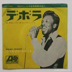 Discos de vinilo: WILSON PICKETT – DEBORAH / DOWN BY THE SEA JAPAN,1968. Lote 236840790