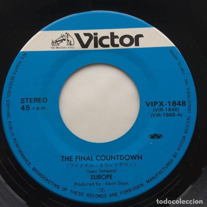 Discos de vinilo: Europe – The Final Countdown / On Broken Wings Japan,1986 - Foto 4 - 236841935