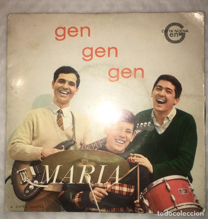 SINGLE GEN ROSSO - MARIA - GEN GEN GEN - PEDIDOS MINIMO 7€ (Música - Discos - Singles Vinilo - Canción Francesa e Italiana)