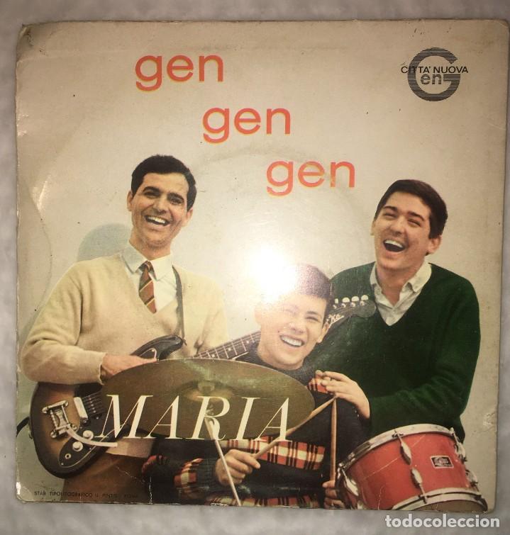 Discos de vinilo: SINGLE GEN ROSSO - MARIA - GEN GEN GEN - PEDIDOS MINIMO 7€ - Foto 2 - 236842840