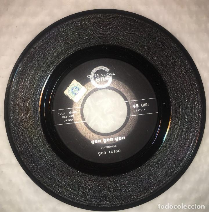 Discos de vinilo: SINGLE GEN ROSSO - MARIA - GEN GEN GEN - PEDIDOS MINIMO 7€ - Foto 3 - 236842840