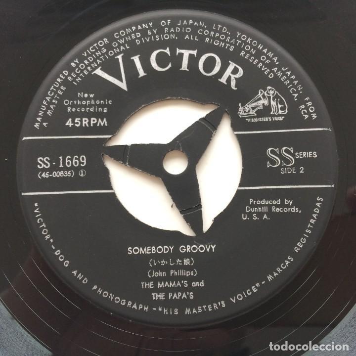 Discos de vinilo: The Mamas & The Papas - California Dreamin / Somebody Groovy Japan,1965 - Foto 6 - 236844140