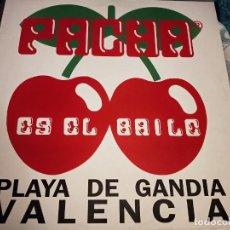 """Discos de vinilo: PACHA (3) - ES EL BAILE (12"""") SELLO:BLANCO Y NEGRO MX-528. MUY BUEN ESTADO. NEAR MINT / NEAR MINT. Lote 236846720"""